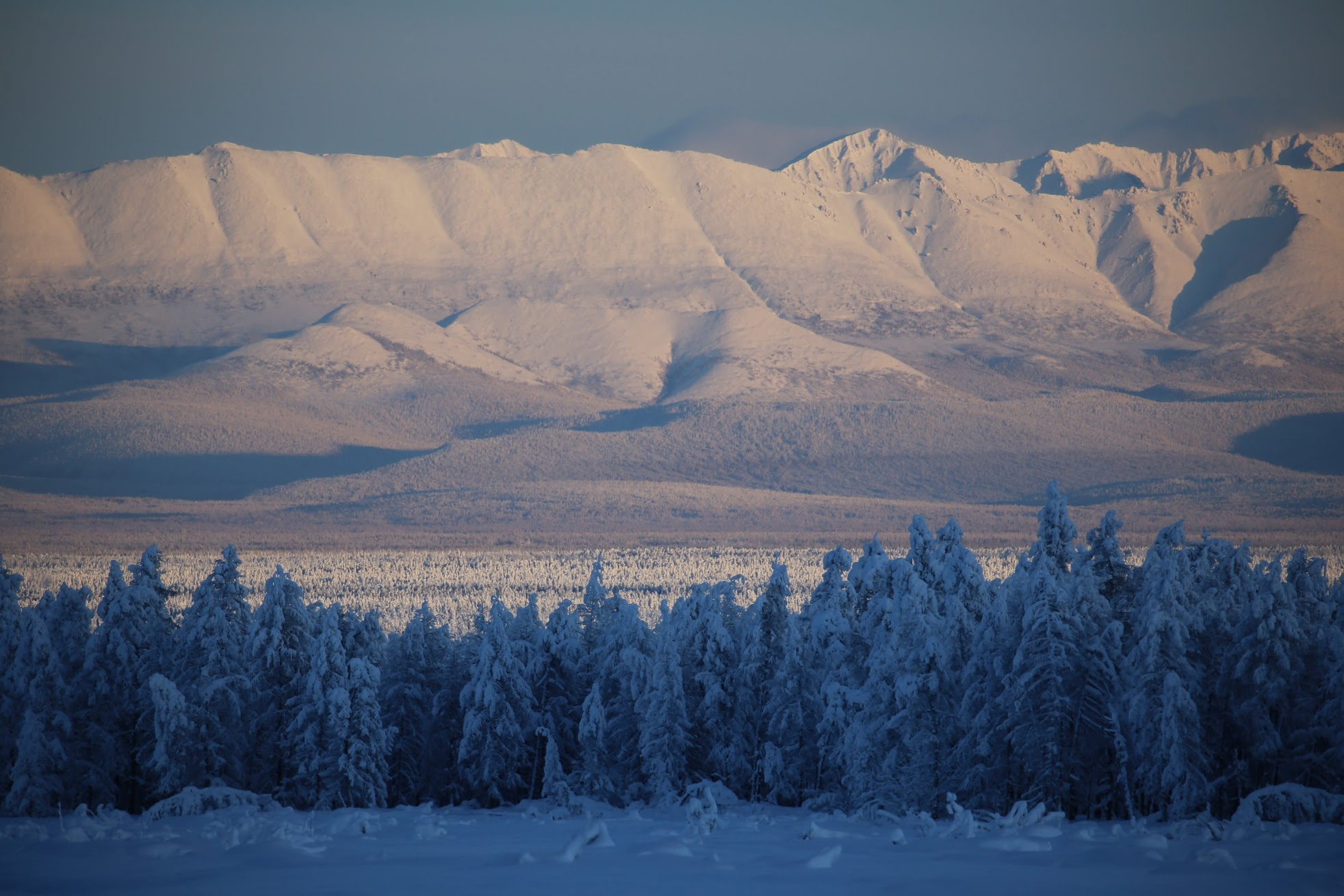 Winter Solo Training Expeditions to Mountains of Yakutia and Kolyma